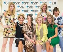 Jamie Fowler, Dawn Mellon, Lisa Petty, Yvonne Crum, Melissa Rountree, Jessi Moreau (back left), Carolyn Tillery (back right)