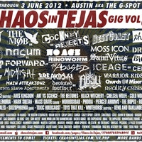 Austin photo: Events_Chaos in Tejas_Poster
