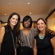 10 Karla Goudet, from left, Dr. Olotoye Olutoyin and Isabella Torras at the BCN dinner for Texas Children's Hospital September 2014