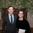 Dan Harris and Marie Evnochides at the Jung Center Spring Benefit April 2015