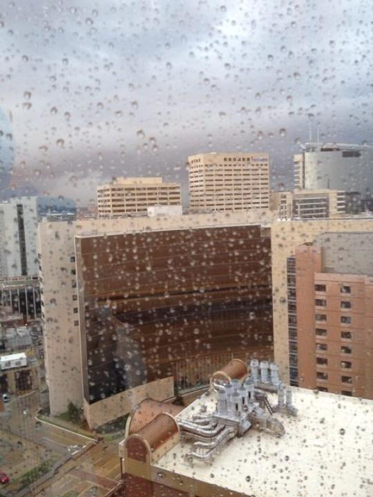 Houston, rain, storm, floods, Medical Center