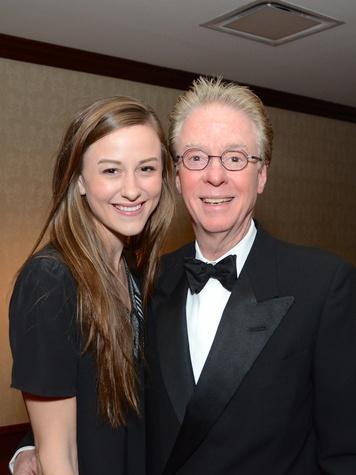 Andrea Edmundson and Dr. Bert Edmundson at the Irish Gala November 2014