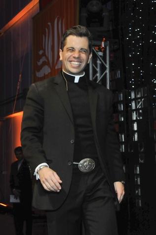 News, Shelby, Father T.J. Martinez, Nov. 2011
