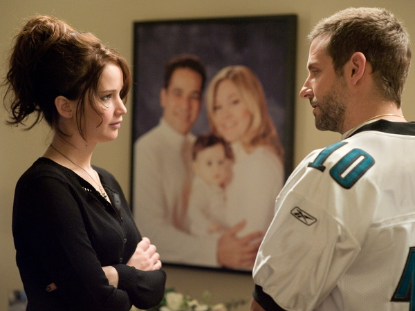 Silver Linings Playbook, Bradley Cooper, Jennifer Lawrence