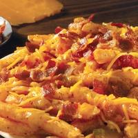 Houston, Popeyes Loaded Cajun Fries with Cajun Gravy, Sept 2017