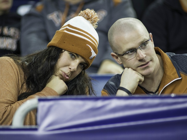Texas fans annoyed Texas Bowl