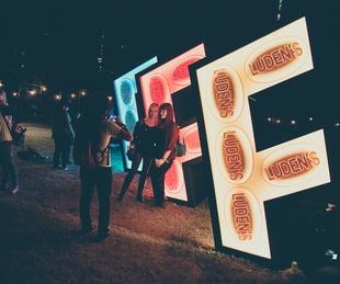 Fun Fun Fun Fest 2014 Day 3 Luden's Sign