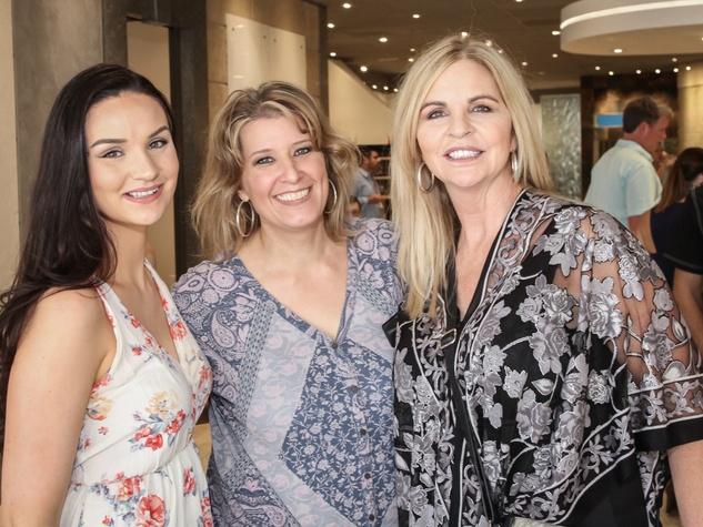 Hannah Johnson, Karen Yoder, Missy Stewart at Risotto Festival