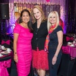1 Grace Kim, from left, Sandy Barrett and JoLynn Falgout at the Memorial Hermann Razzle Dazzle luncheon October 2014