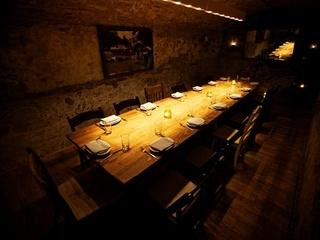 Herradura Tequila dinner at La Condesa lit table interior