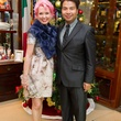 26 Vivian Wise and Sergio Morales at the Mrs. B Jewelry Launch at Valobra November 2013