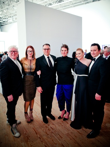 Tim Maloney, Rebekah Johnson, William Middeton, Jessica Phifer, Caroline Starry LeBlanc, and Jared LeBlanc at the CAMH Gala April 2014
