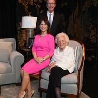 Neil and Maria Bush, Barbara Bush