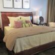 News, Shelby, Houston Design Center Sample Sale, August 2014, Henredon bed