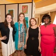Andrea Siceluff, from left, Sophie McCollum, Dr. Ruth Buzi and Lisa Blackmon-Jones at the Foundation for Teen Health luncheon October 2014