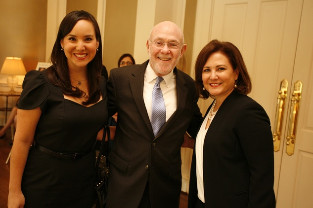 37 Laura Ilgun, from left, Dr. David Poplack and Victoria Martinez Guerra at the Texas Children's Hospital Celebration of Champions luncheon October 2014