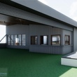 Buffalo Bayou new brewery patio garden