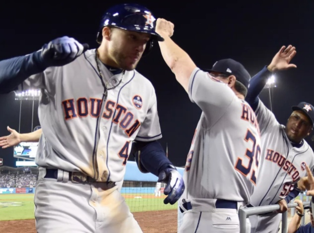 George Springer's 11th inning home run gave the Astros a much-needed win over LA in Game 2 of the World Series