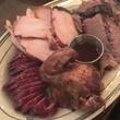 The Republic Smokehouse & Saloon barbecue sausage chicken