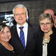 Margie Reyes, from left, with David and Blanca Medina at the Mayor's Hispanic Advisory Board Holiday Party December 2013