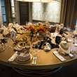 17 Table with Tenenbaum & Co. jewelry and David Peck masks at the Houston Ballet kick-of party October 2014