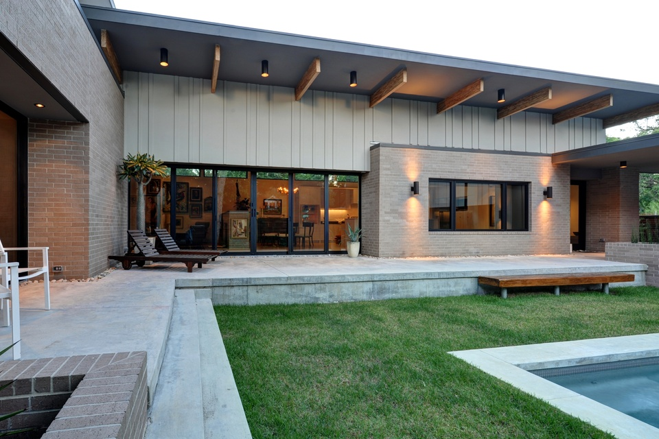 Modern house houston tx House modern