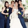 NAME, from left, Larina Chen, Tina Agustin and Alma Candelario Wonderful Weddings Always a Bridesmaid February 2014