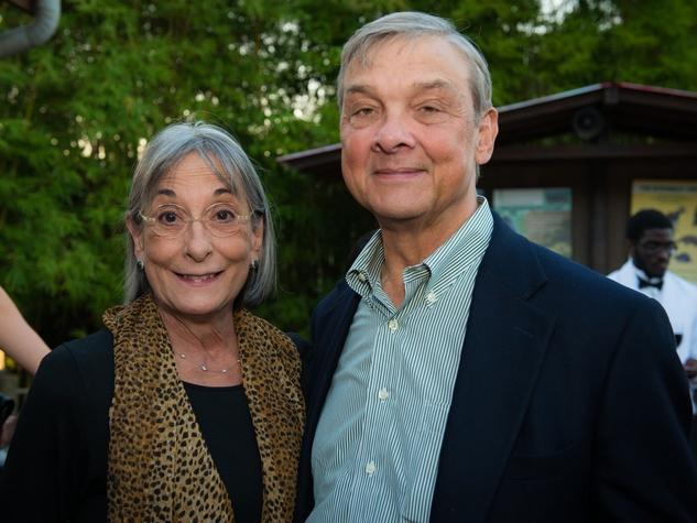Houston Zoo Conservation Gala 2015 Annie Graham, Bob Graham