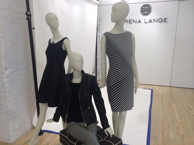 Rena Lange spring 2015 collection
