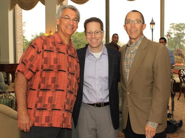 Spring Spirit Baseball event, February 2013, Dave Dravecky, Gregg Matte, Jeff Pennington