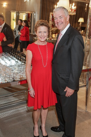 2 6425 Laura Bellows and Jack Pendergrast at the Baccarat anniversary party November 2014