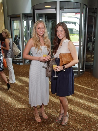 March of Dimes, Labor Day event, August 2012, Catherine Willingham, Nicole Epstein