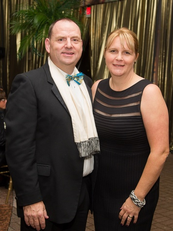 Perryn and Caroline Leech at the Houston Grand Opera Opening Night celebration October 2013