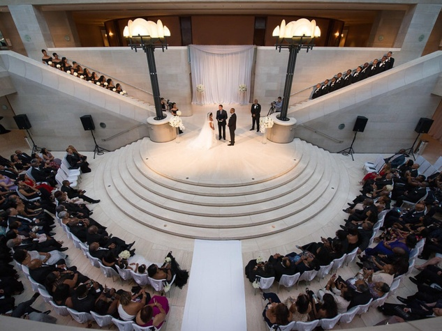 ceremony, Derbigny, Toulson, wedding, Meyerson