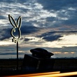 Playboy Marfa Richard Phillips at dusk