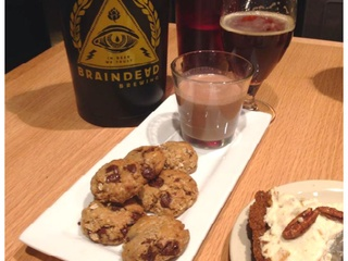 BrainDead Brewing, cookies & milk