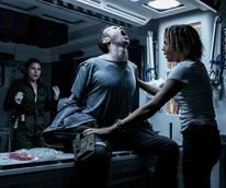 Amy Seimetz, Benjamin Rigby, and Carmen Ejogo in Alien: Covenant