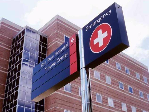 Ben Taub General Hospital, emergency, trauma center, January 2013