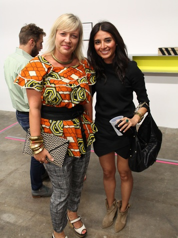 Access Contemporary Houston August 2013 Margaret Sche and Saba Jawda