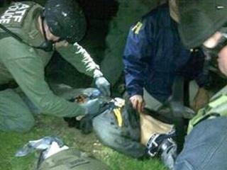 Boston suspect arrested on ground