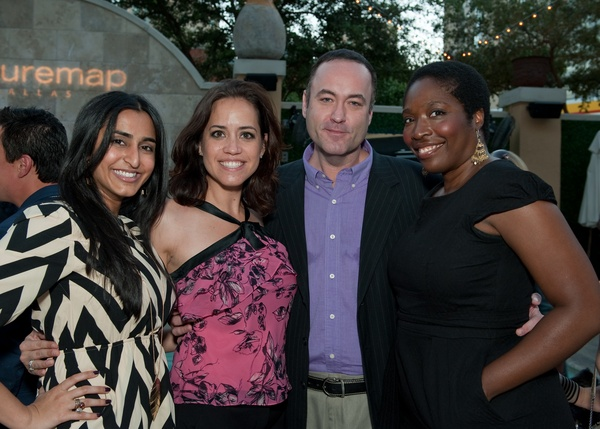 Nicki Patel, Jennifer Buxton, Steven Dennis, Farah Fluerima 