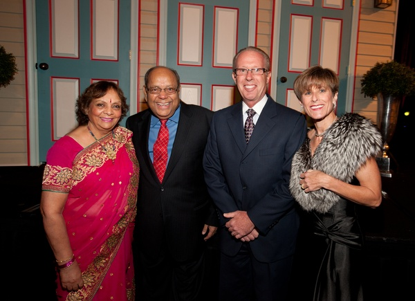 Habitat for Humanity Gala, November 2012, Leela Krishnamurthy,  Nat Krishnamurthy, Brian Binash, Irene Binash