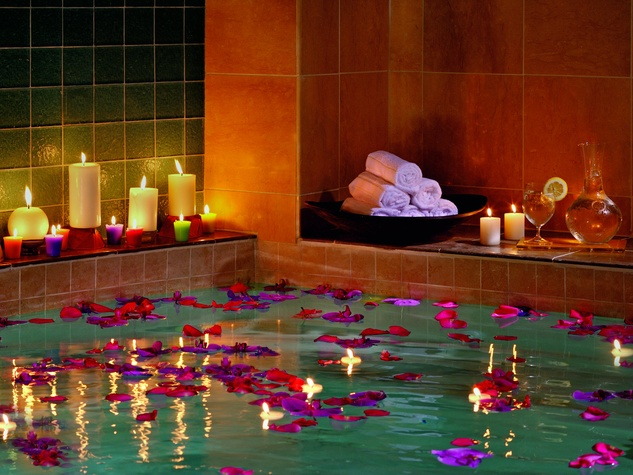 Healing waters at Ritz Carlton, Dallas Spa