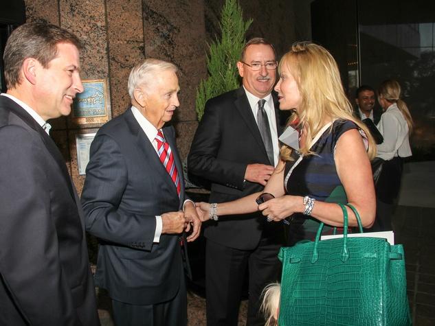 Mark Woelffer, JW Marriott Jr, Rob Steigerwald, Nancy C Rogers, Renaissance Hotel