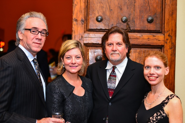 248 Steve Newhouse, from left, Denise Bradley, Bruce Jefferies and Nadine Scamp at the Santa Maria Gala June 2014