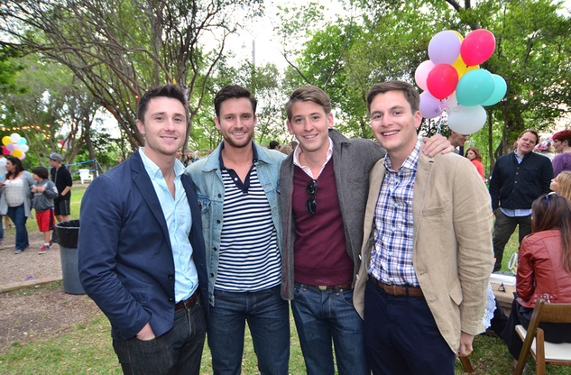 Fashion-forward Austinites flocked to the French Legation Museum for Tribeza's annual Lawn Party