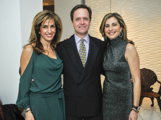 031, CultureMap CEO reception, January 2013, Sima Ladjevardian, Christopher Gardner, Rania Daniel