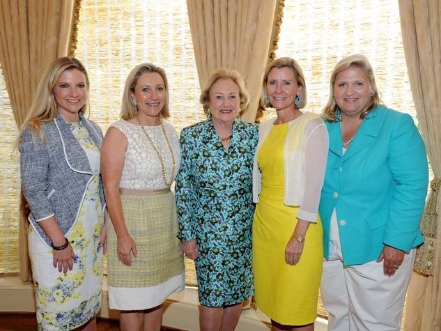 Katherine Reeves, Carolyn Rathjen, Margot Perot, Nancy Perot, Suzanne McGee, Salvation Army Luncheon