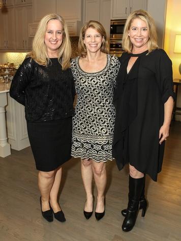 Whitney Newell, Jill Cumnock, Diane Fullingim, TANP Sponsor Party