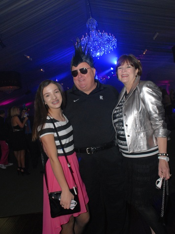 13 4116 Channing Allshouse, from left, and Bucky and Cynthia Allshouse at Club Berlin Baker Institute party November 2013